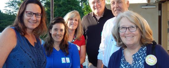 L to R: Taren Saccoman, Megan Loukota, Pam Cunningham, Steve Roe, Mike Winkels, Joan Ingebrigtson (not pictured Bonnie Coffey).